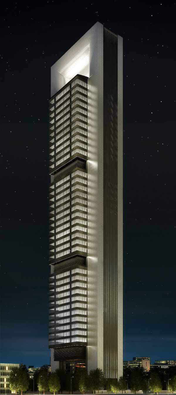 Revista de arquitectura y dise o peruarki torre caja for Caja madrid particulares oficina internet