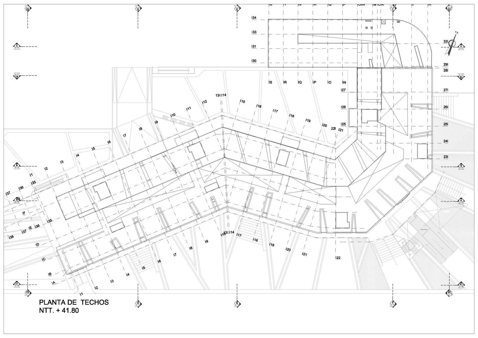 Revista de arquitectura y dise o peruarki rafael rios for Ejes arquitectonicos