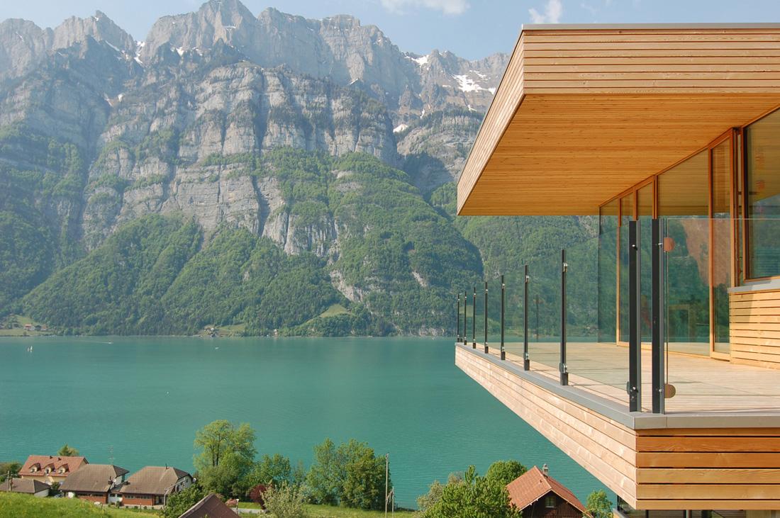Revista de arquitectura y dise o peruarki casa frente for Comprare casa al lago