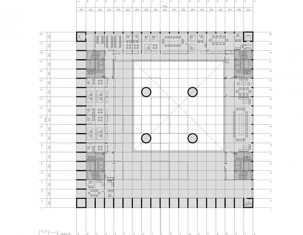 revista de arquitectura y dise o peruarki 1285613286 4 planta sexta alberto campo baeza. Black Bedroom Furniture Sets. Home Design Ideas