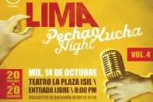 Pecha Kucha Night Lima volumen 4