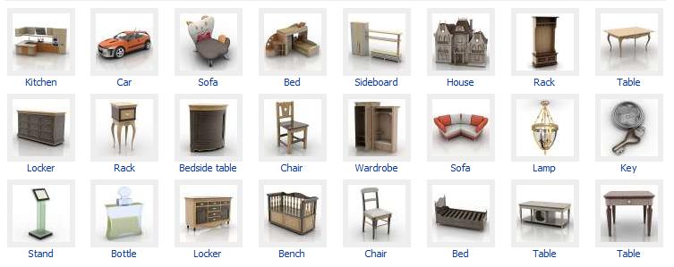 Revista de arquitectura y dise o peruarki 3d modelos for Diseno de muebles 3d